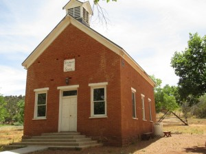 Shumway School House in Taylor az